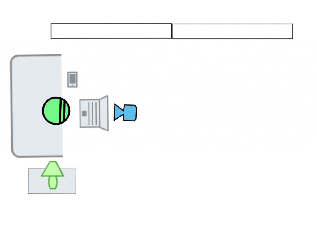 Floor Plan Computer Scene